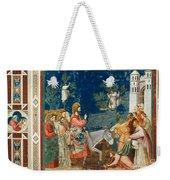 Jesus Entering Jerusalem Weekender Tote Bag