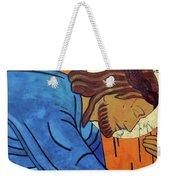 Jesus Falls Under The Cross Weekender Tote Bag