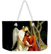 Jesus In Gethsemane Weekender Tote Bag