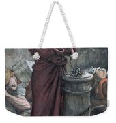 Jesus In Prison Weekender Tote Bag