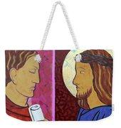 Jesus Is Condemned Weekender Tote Bag