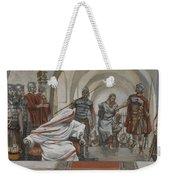 Jesus Led From Herod To Pilate Weekender Tote Bag by Tissot