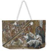 Jesus Meets His Mother Weekender Tote Bag