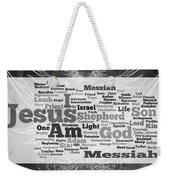 Jesus Messiah Weekender Tote Bag
