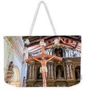 Jesus On The Cross In San Ramon, Bolivia Weekender Tote Bag