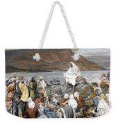 Jesus Preaching Weekender Tote Bag