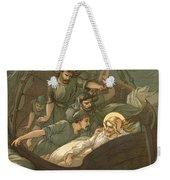 Jesus Sleeping During The Storm Weekender Tote Bag