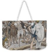 Jesus Stripped Of His Clothing Weekender Tote Bag