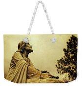 Jesus Teach Us To Pray - Christian Art Prints Weekender Tote Bag