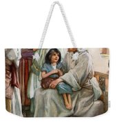 Jesus Teaching The People Weekender Tote Bag