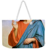 Jesus Weeping Over Jerusalem Weekender Tote Bag