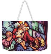Jesus With The Children Weekender Tote Bag