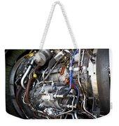 Jet Engine Weekender Tote Bag