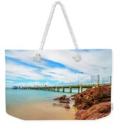 Jetty By The Sea Weekender Tote Bag
