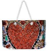 Jewel Heart Weekender Tote Bag