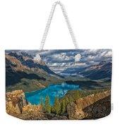 Jewel Of The Rockies Weekender Tote Bag