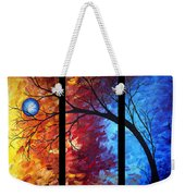 Jewel Tone II By Madart Weekender Tote Bag