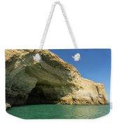 Jewel Toned Ocean Art - Colorful Sea Cave In Algarve Portugal Weekender Tote Bag
