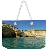 Jewel Toned Ocean Art - Gliding By Sea Caves And Secluded Beaches Weekender Tote Bag