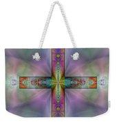 Jeweled Cross Weekender Tote Bag