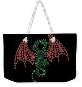 Jeweled Dragon Weekender Tote Bag