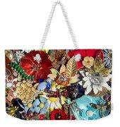 Jeweled Garden Weekender Tote Bag