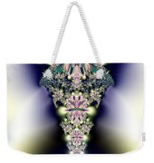 Jeweled Icicle Fractal 136 Weekender Tote Bag