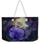 Jeweled Iris Weekender Tote Bag