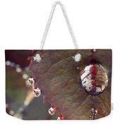 Jeweled Leaves Weekender Tote Bag by Patricia Strand