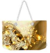 Jewels And Satin Weekender Tote Bag