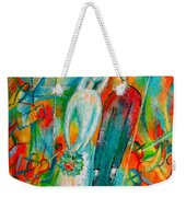 Jewish Wedding Weekender Tote Bag