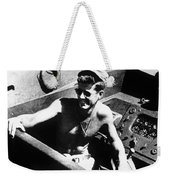 Jfk On Pt 109 Painting Weekender Tote Bag