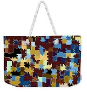 Jigsaw Abstract Weekender Tote Bag