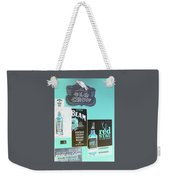 Jim Beam's Old Crow And Red Stag Signs - Color Invert Weekender Tote Bag
