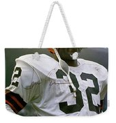 Jim Brown, Cleveland Browns, Signed Weekender Tote Bag