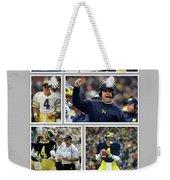 Jim Harbaugh A Michigan Man Weekender Tote Bag