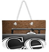Jim Tracy Rockies Manager Weekender Tote Bag by Marilyn Hunt