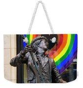 Jimi Hendrix Love On Capitol Hill Weekender Tote Bag