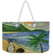 Jimmy And Jessie At Beach Weekender Tote Bag
