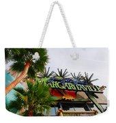 Jimmy Buffets Margaritaville In Las Vegas Weekender Tote Bag by Susanne Van Hulst