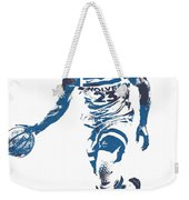Jimmy Butler Minnesota Timberwolves Pixel Art 5 Weekender Tote Bag