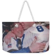 Jimmy Johnson Troy Aikman Weekender Tote Bag