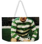 Jimmy Johnstone  Weekender Tote Bag