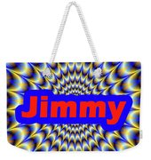Jimmy Weekender Tote Bag