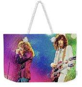 Jimmy Page - Robert Plant Weekender Tote Bag