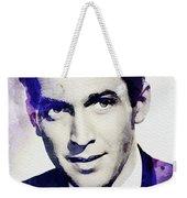 Jimmy Stewart, Vintage Actor Weekender Tote Bag