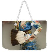 Pow Wow Jingle Dancer 7 Weekender Tote Bag
