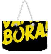 Jiu Jitsu Design Vamo Bora Yellow Light Martial Arts Weekender Tote Bag