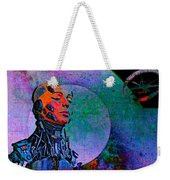 Jive Bot/robotics And Consciousness/she Had Left Her Robotic Body/ Weekender Tote Bag