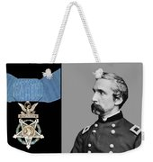 J.l. Chamberlain And The Medal Of Honor Weekender Tote Bag by War Is Hell Store